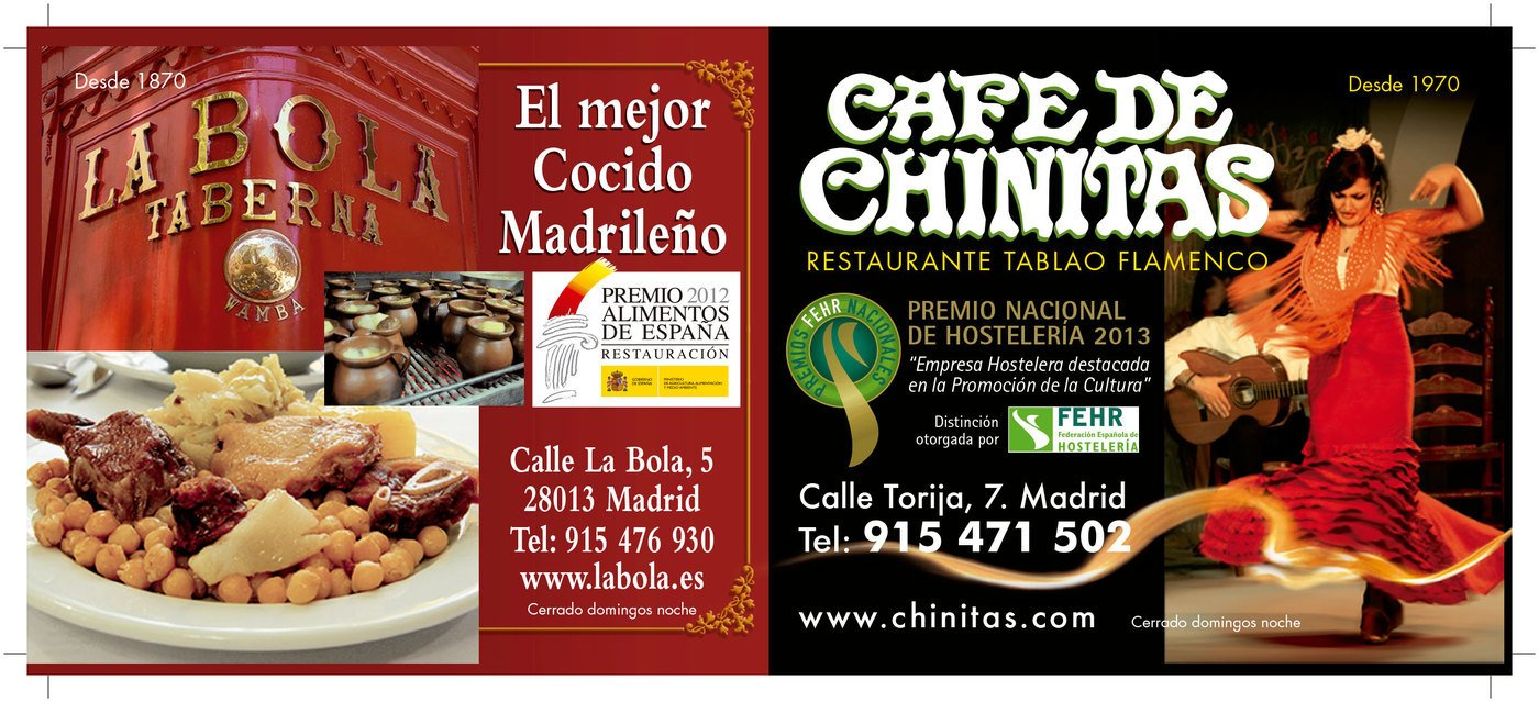 La Bola Taberna | Café de Chinitas