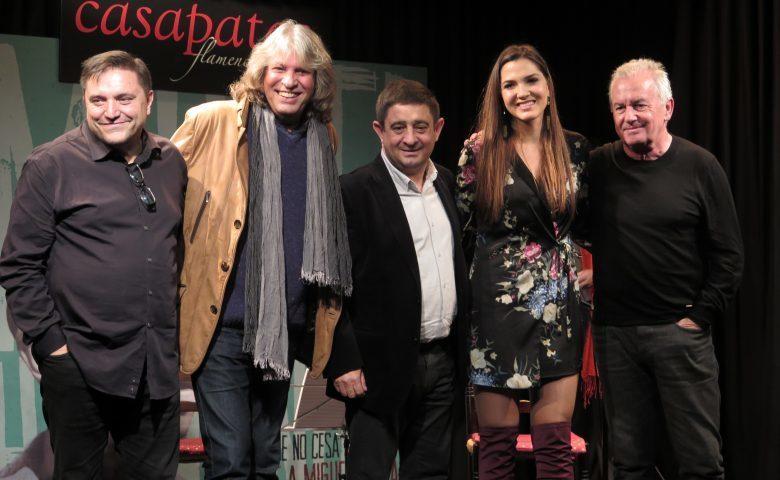 Presentación del Disco Homenaje a Miguel Hernández, El canto que no cesa