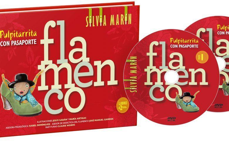 SILVIA MARIN PULPITARRITA CON PASAPORTE  LIBRO + 2 DVD    EL FLAMENCO VIVE
