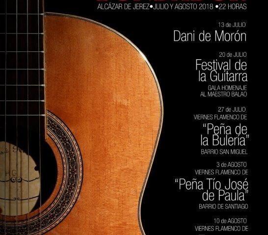 Gran programa flamenco de verano en Jerez: Noches de Bohemia, Viernes Flamencos