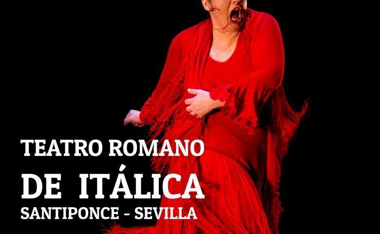 """María del Mar Moreno y su espectáculo """"Jerez Puro Esencia"""" en el Teatro Romano de Itálica, 18 de julio"""