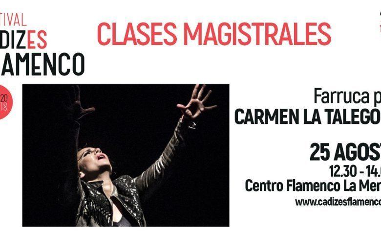 Clases magistrales de baile, cante y guitarra gratuitas en el #FestivalCádizesFlamenco