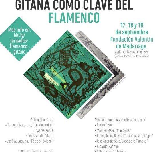 La transmisión dinástica gitana en el flamenco, 17 al 19 de septiembre, en Sevilla