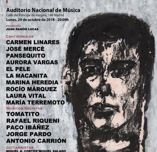 29 de octubre, el Flamenco rinde Homenaje a José Menese en el Auditorio Nacional