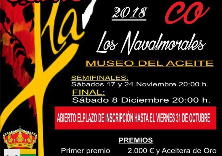 """I Concurso Nacional de Cante Flamenco """"Los Navalmorales"""", Toledo"""
