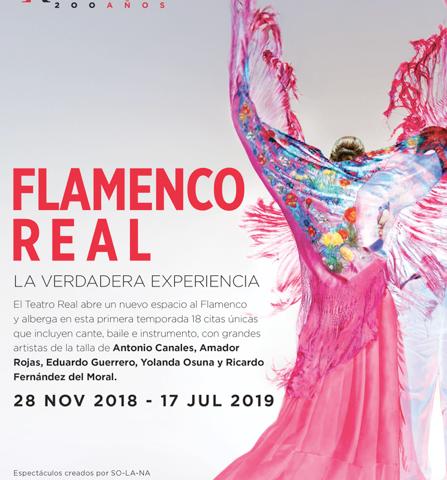 El Teatro Real presenta Flamenco Real, del 28 de noviembre al 17 de julio de 2019