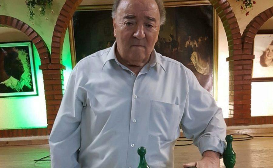 """""""Tengo en los oídos mucho cante de otras épocas"""", Antonio Benítez Manosalbas, presidente, Peña Los Cernícalos, Jerez"""