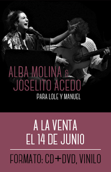 Alba Molina y Joselito Acedo
