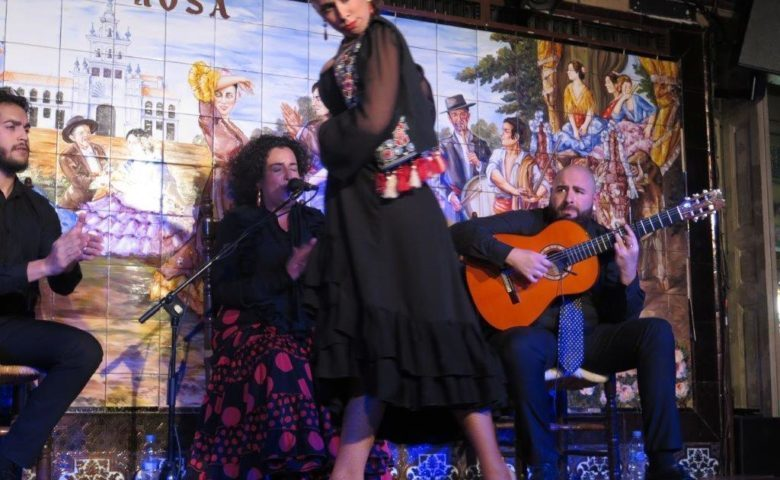 VIII Concurso de baile flamenco Villa Rosa