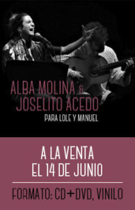 Alba Molina y Joselito Acedo