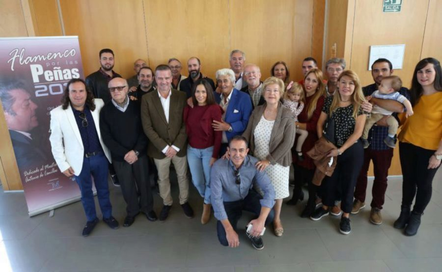 """""""Flamenco por las peñas"""", 40 recitales y 74 artistas, Málaga Flamenca"""