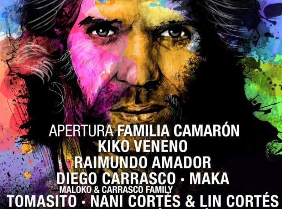 "12 horas de música en directo en ""Fusión por Camarón"", 5 de diciembre en San Fernando"