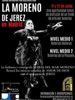 La Moreno de Jerez en Madrid