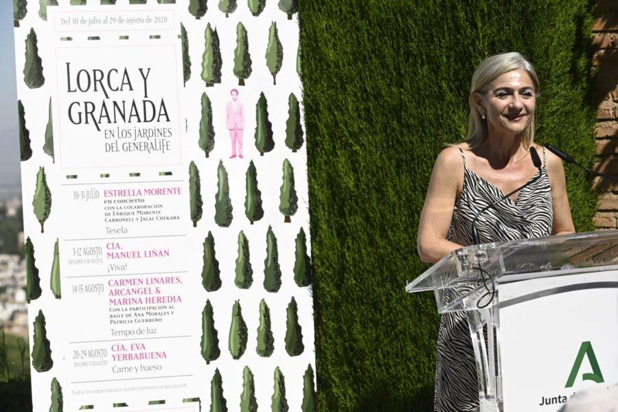 'Lorca y Granada', ciclo flamenco en los Jardines del Generalife, 29 julio a 30 agosto