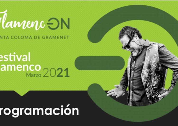 En marzo, Flamenc-ON'21, Festival Flamenco de Santa Coloma