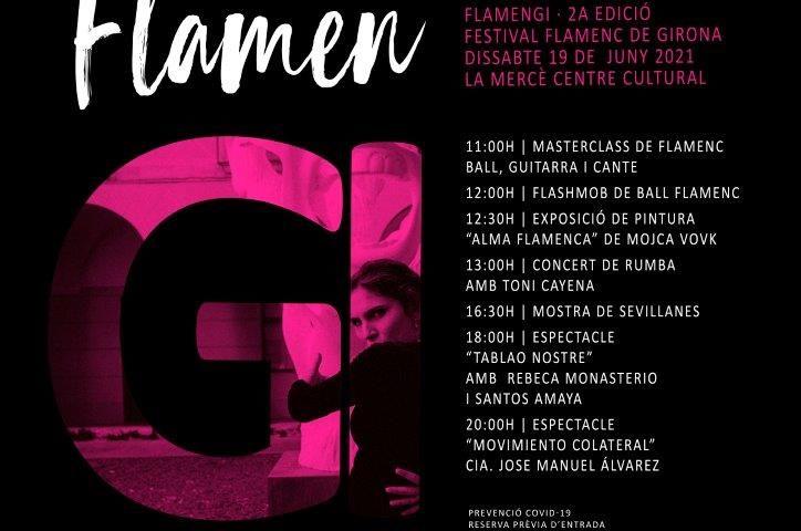 19 de junio, FlamenGi llenará de flamenco la ciudad de Gerona