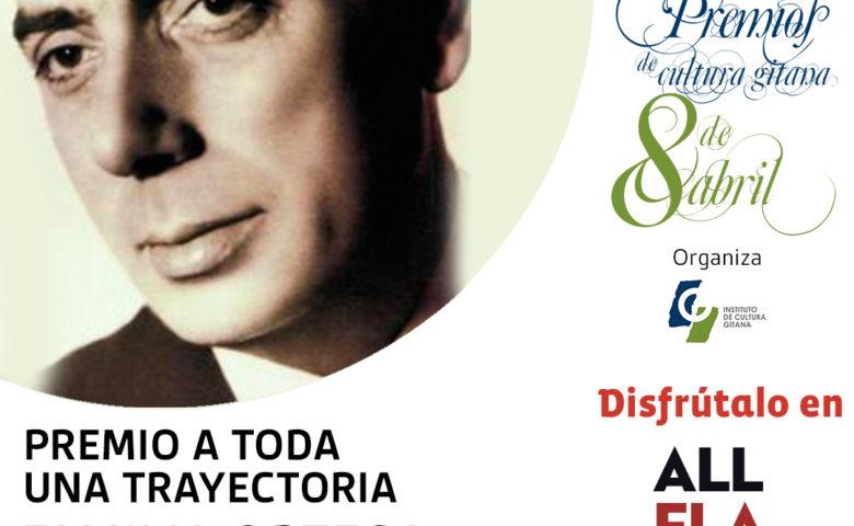 """El flamenco muy presente en la """"Gala de los premios 8 de abril del Instituto de Cultura Gitana"""", que se podrá seguir en directo en el canal All Flamenco"""