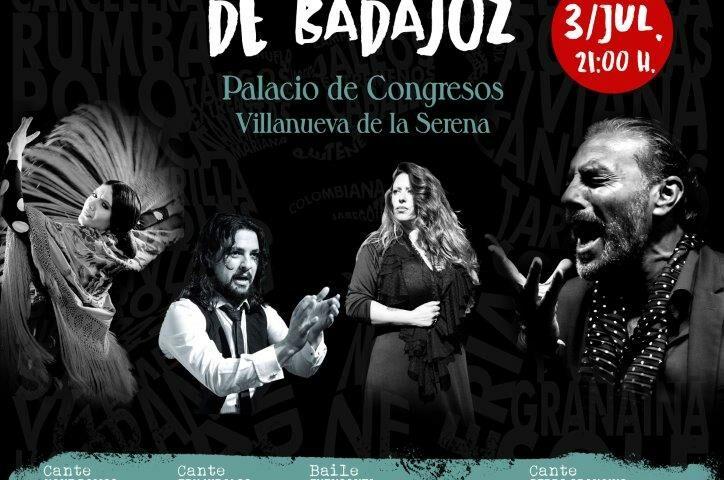 Festival Flamenco Porrina de Badajoz, 3 de julio, Villanueva de la Serena