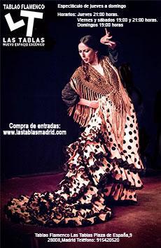 Flamenco Las Tablas Madrid